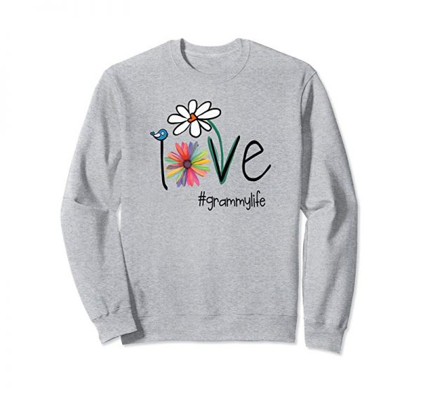 Trends Womens Love Grammy Life - Art Flower Premium T-Shirt
