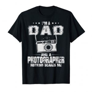 Buy Now I'm A Dad And Photographer Vintage Funny Father's Day T-Shir