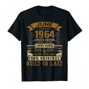 Trends Vintage 55th Birthday June 1964 T-Shirt 55 Years Old Gift