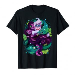 Trending Disney The Little Mermaid Ursula Sea Witch Painting T-Shirt