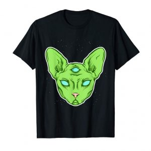 Get Alien Cat - Angry Kitty From Another Dimension T-Shirt