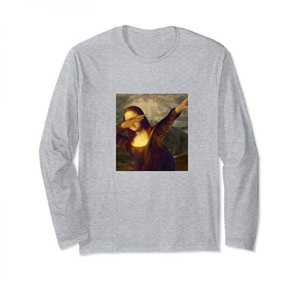 Buy Dabbing Mona Lisa - Funny Art Teacher T-Shirt
