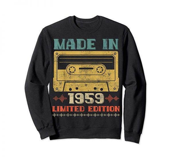 Shop Retro Classic Music Made In 1959 60th Birthday Gifts 60 Yrs