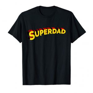 Trends Superdad Super Hero Daddy Father T-shirt