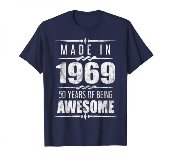 Trends Funny 50 Years Gift Distressed 50th Birthday T-Shirt