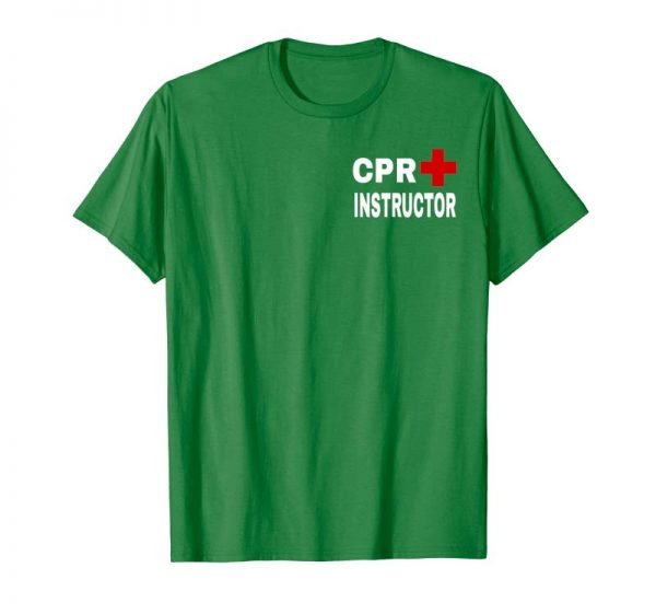 Order Now Red Cross CPR Instructor T-Shirt Official Design