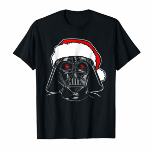 Trending Star Wars Santa Darth Vader Sketch Christmas Graphic T-Shirt