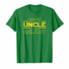 Trends Best Uncle In The Galaxy Shirt Birthday Gift For Uncle T-Shirt