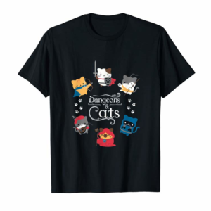 Adorable Dragon Fire In The Dungeons T Shirts Dungeons And Cats