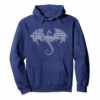 Order Dragon Word Art   D20 Tabletop Role Playing Game   RPG Pullover Hoodie