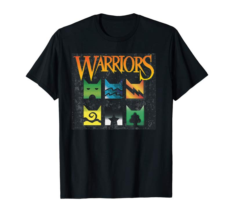 Buy Now Warrior Cats Clan Icons T-Shirt Boy And Girls Book Readers Pullover Hoodie
