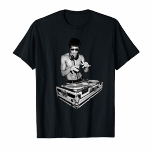 Buy Now DJ Master Bruce ,MixMaster Bruce, DeeJaying On A Mixer T-Shirt