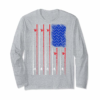 Trends American Flag Fishing T-shirt, Fisherman Independence Day T-Shirt