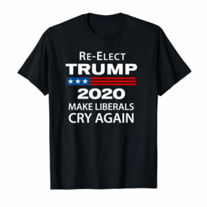 Buy Now Donald Trump 2020 Make Liberals Cry Again Mens Hoodie Pullover Hoodie