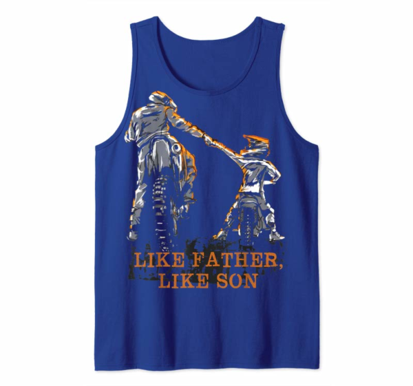 Order Motocross Dirt Bike T-Shirt - Like Father Like Son