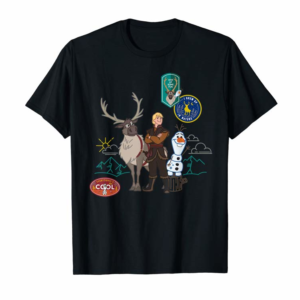 Shop Disney Frozen 2 Olaf, Sven, And Kristoff Patches T-Shirt