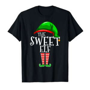 Buy Now The Sweet Elf Family Matching Group Christmas Gift Funny T-Shirt