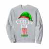 Trends The Coffee Elf Group Matching Family Christmas Gifts Funny T-Shirt