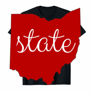 Adorable State Of Ohio Outline Fan Hoodie For Men And Women