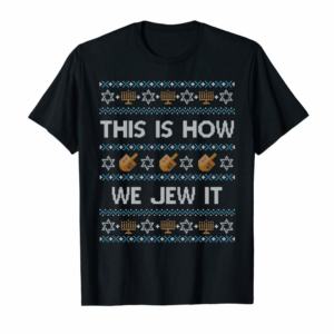 Cool Funny Ugly Hanukkah Sweater This Is How We Jew It