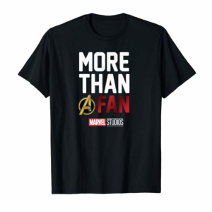 Shop Marvel Avengers More Than A Fan 2019 Graphic Hoodie