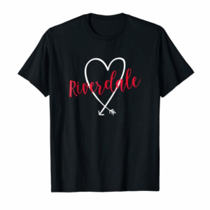Buy Now Riverdale NY Love Heart T-Shirt Handwriting Style
