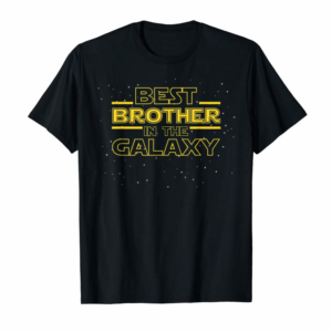 Buy Best Brother Galaxy Shirt Gift For Men Boys From Brother T-Shirt