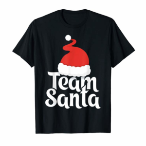 Buy Now Team Santa Tshirt Christmas Family Matching Pajama T-Shirt