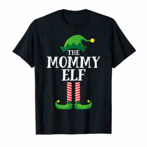 Cool Mommy Elf Matching Family Group Christmas Party Pajama T-Shirt