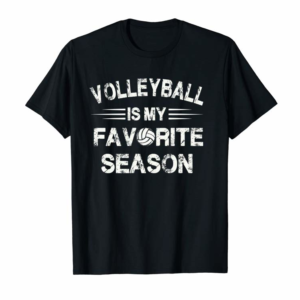Buy Volleyball Is My Favorite Season Shirt For Volleyball Lovers Pullover Hoodie