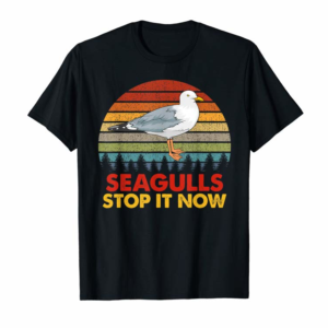 Trends Seagulls Bird Lover Stop It Now Vintage Retro Funny Seagulls T-Shirt