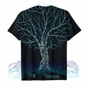 Trends Binary Tree Computer Coding T-Shirt