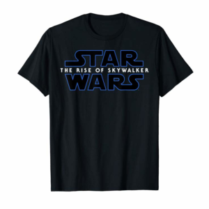 Order Now Star Wars The Rise Of Skywalker All Movie Logos Back C1 T-Shirt