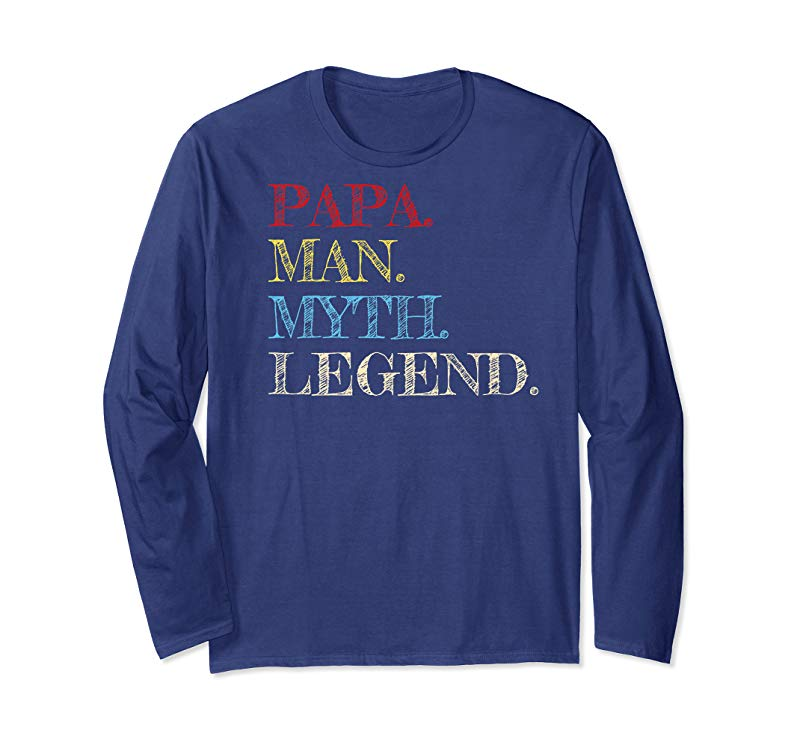 Trends Mens Papa Man Myth Legend T-Shirt Awesome Gift For Your Father