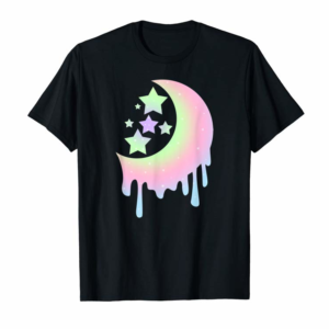 Buy Now Aesthetic Clothing For Girls, Pastel Moon Goth Shirts