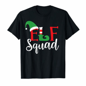 Adorable Elf Squad Funny Christmas Matching Top T-Shirt