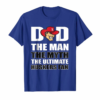 Order Now Nebraska Cornhuskers Dad The Ultimate Fan T-Shirt - Apparel