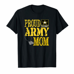 Buy Proud Army Mom Shirt Military Pride T Shirt T-Shirt