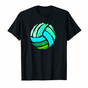 Order Volleyball Blue Green Ball Hoodie Gift For Teens
