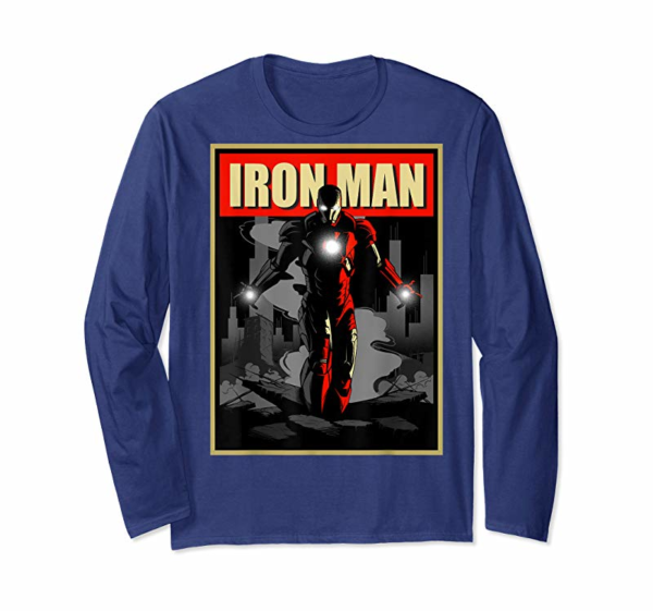 Order Marvel Iron Man Rise From The Ashes Deco Style T-Shirt T-Shirt