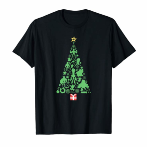 Trends Marvel Holiday Super Heroes Christmas Tree T-Shirt