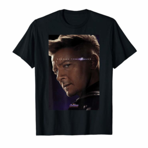 Adorable Marvel Avengers Endgame Hawkeye What Ever It Takes Poster  T-Shirt