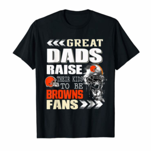 Buy Cleveland-Brown Great Dads Football T-Shirt