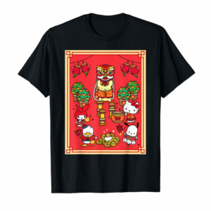 Buy Now Hello Kitty And Friends Happy Lunar New Year 2020 T-Shirt