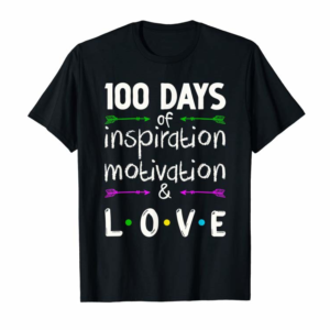 Adorable 100th Day Of School TShirt Gift Funny Elementary Teachers T-Shirt