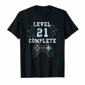 Adorable 21st Birthday Video Game Humor Tee Funny Gamer Gifts T Shirt