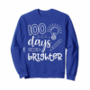 Buy Now 100 Days Brighter Shirt 100th Day Shirt For Teacher Child
