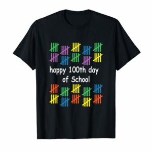 Buy Happy 100th Day Of School Tshirt Teacher School Kids 100 Day T-Shirt