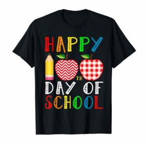 Adorable Happy 100th Day Of School Teacher Student Kids Gift T-Shirt