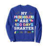 Adorable 100th Day Of School Gift For Preschool Teacher T-Shirt